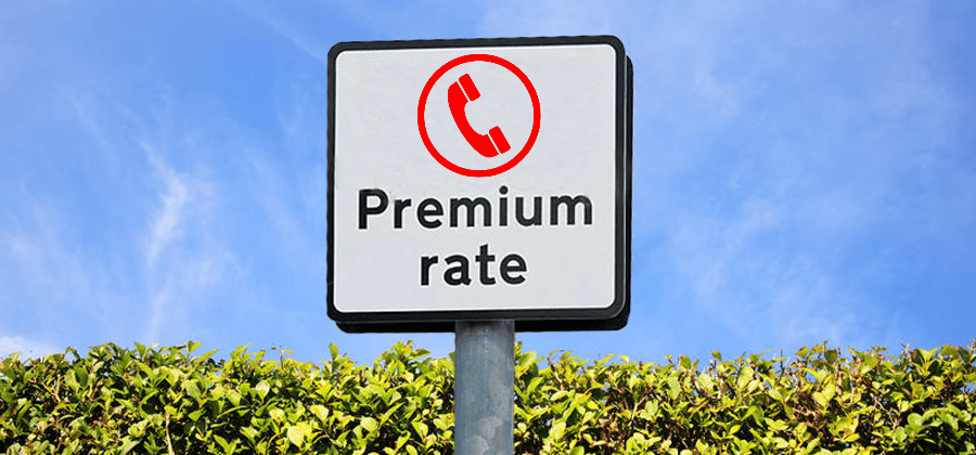 2018 review of Premium Rate Services