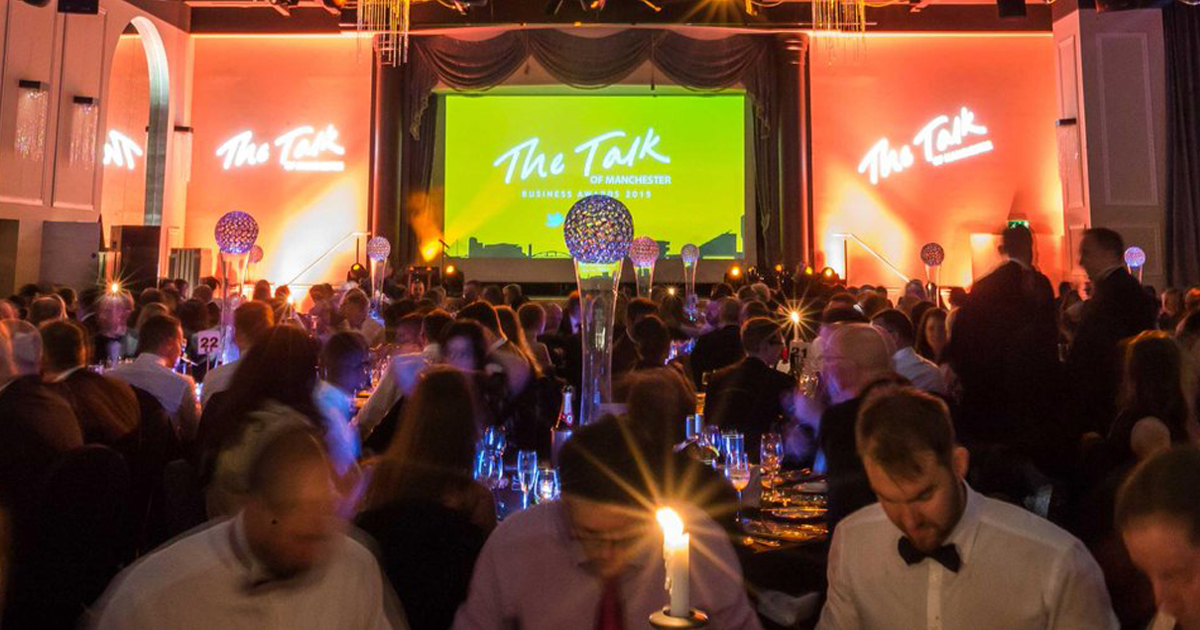 Best Manchester Telecoms provider 2019 - The Talk of Manchester - 08UK Nominated for Business Award
