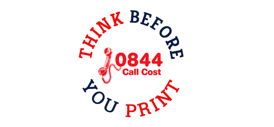 Do you have a new 084 or 087 number? Think before you print, are you legal, are you Ofcom compliant?