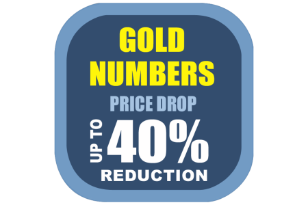 Gold Number Price Drop