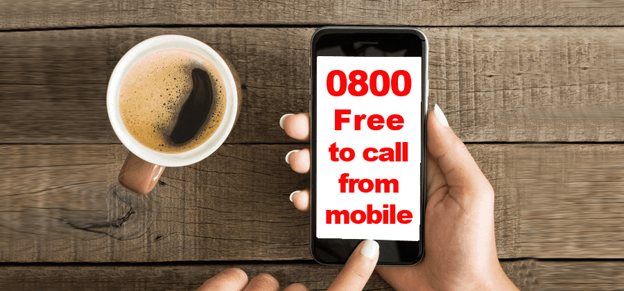 Mobile Phones Can Call 0800 Numbers For Free