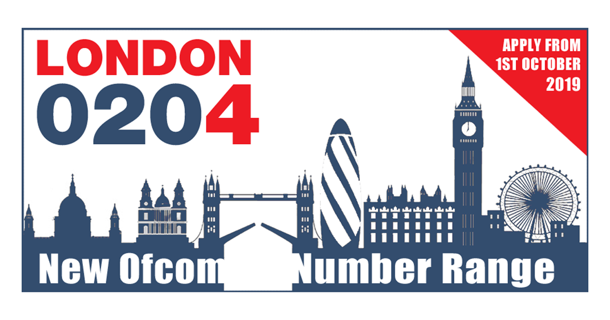 New 0204 London Phone Numbers, 10 Million to be released by Ofcom