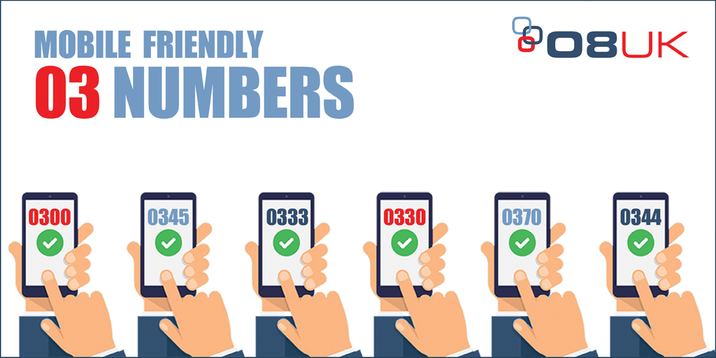 Popular Mobile Friendly 03 Numbers