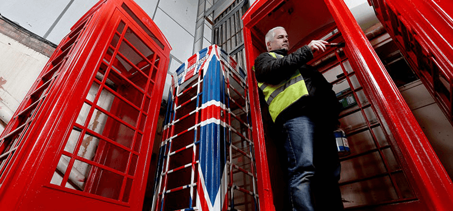Red Telephone Box resurrection - An insight into a Telephone box graveyard