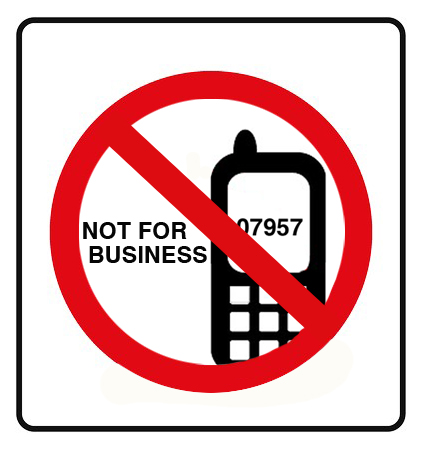 Why Not To Advertise A Mobile Phone Number As Your Business Contact Number