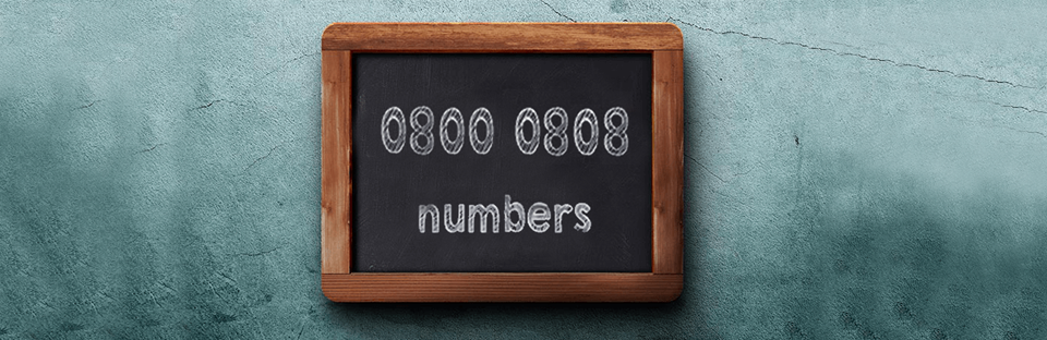 0800 0808 Numbers