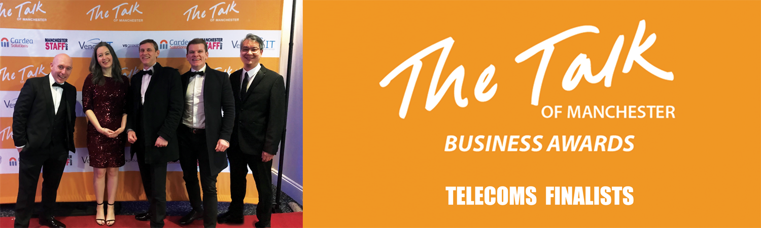 Manchester Business Telecoms Company TOMS Best Provider Awards